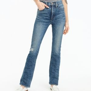NWT J. Crew Point Sur Skinny Flare Jeans size 29